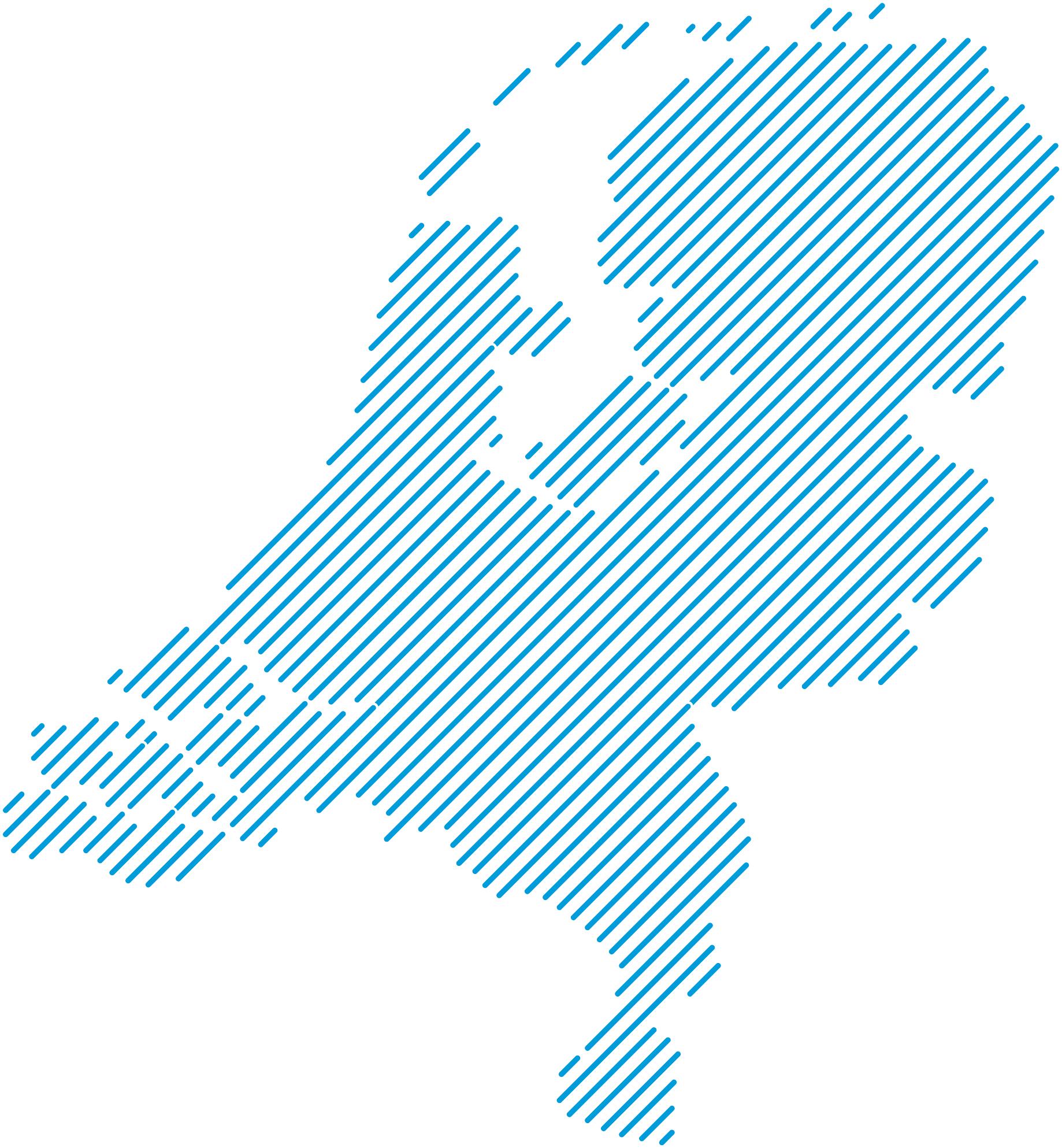 Kaart van nederland met vestigingen van Veilig Thuis